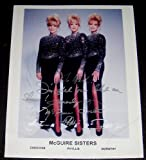 1950's Singing Group the McGuire Sisters Autographed Photograph (Music Memorabilia)