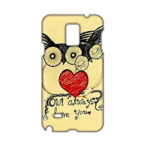 Lovely owls unique durable fashion 3D Phone Case Cover for Iphone 5/5S Case Cover