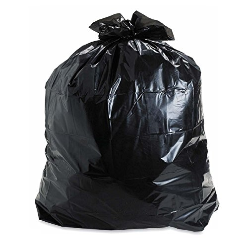 Aserson Heavy Duty Contractor Trash Garbage Bags, 2.4MIL Thickness 42 Gallon 32 inches x 46 inches -...