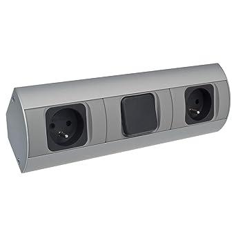 Top Möbeleinbausteckdose Einbausteckdose mit Schalter: Amazon.de MG09