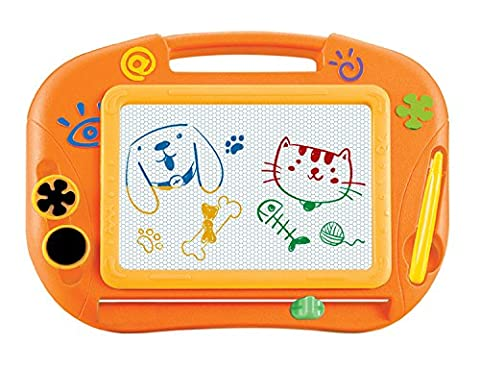Magnetic Drawing Board Games Toy Magna Doodle For Kids - Erasable Colorful Drawing Board Writing Sketching Pad For Kids Inspiration And Colors - Gift for Girls Boy Kids Children Travel - Travel Pad