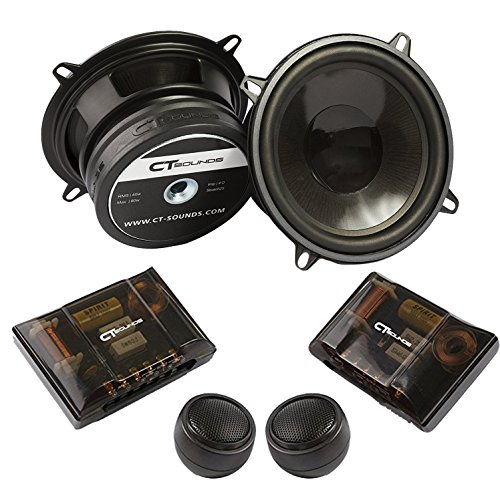 CT Sounds Strato 5.25 inch Component Full Range Car Speaker Set