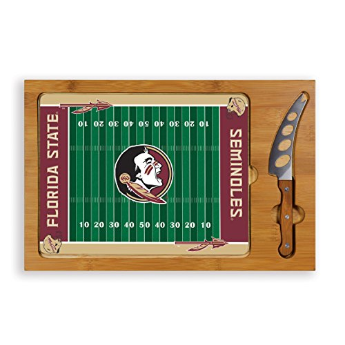 3 Glass State Piece (NCAA Florida State Seminoles Icon Cheese Set (3-Piece))