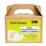 Kalona SuperNatural Fresh Cheesemaking Kit - Easy Cheese Kit. Make your own cheese in 1 hour! (Mozzarella & Mascarpone)