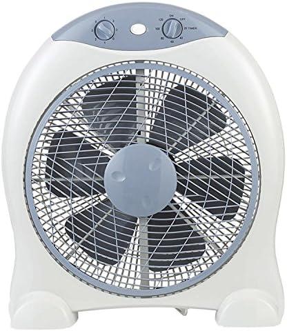GSC Box Fan - Ventilador portátil, giro de 360°, potencia 45W ...