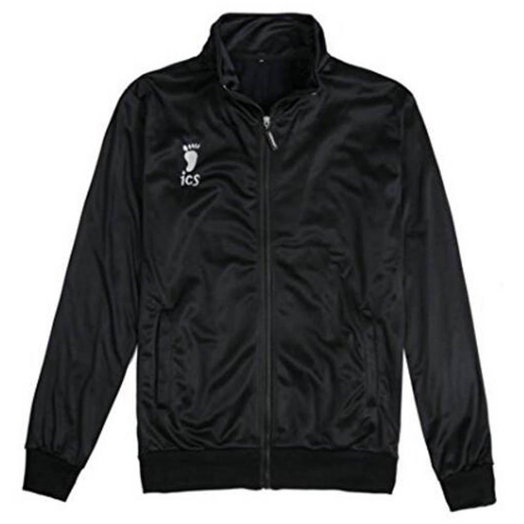 Holran Haikyuu Karasuno Volleyball Hinata Shyouyou Cosplay Sportswear Jacket Jersey (XX-Large)