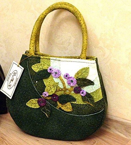Altai dream/Art quilt / Patchwork Handmade Bag by SHaMaNsThings