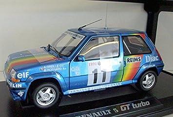 Renault - Norev - 185204 - Renault 5Gt Turbo Mc90 - 1:18: Amazon.es: Juguetes y juegos