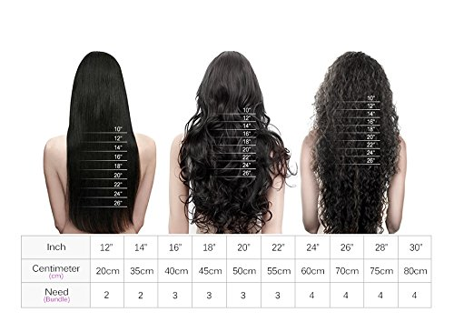 XMH Clip on Hair Extensions 100% Human Hair Clip ins Real Brazilian Hair Extensions 20inch Jet Black Color #1 12pieces/set 180g for Full Head,No Tangle No Shedding 51mZCFGm5kL