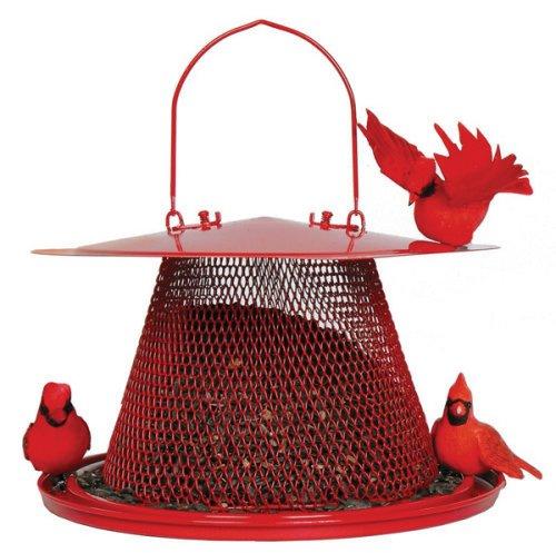 No/No Red Cardinal Bird Feeder C00322