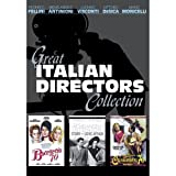 Great Italian Directors Collection (4-Disc Set) [Boccaccio '70, Casanova '70, Story of a Love Affair]