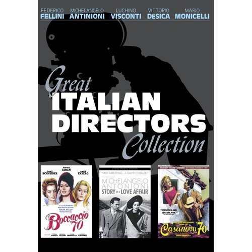 Great Italian Directors Collection (4-Disc Set) [Boccaccio '70, Casanova '70, Story of a Love Affair] by Kino Lorber films