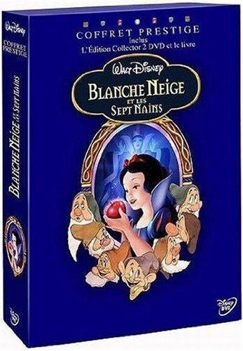 Blanche Neige Et Les Sept Nains Coffret Prestige Livre