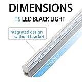 SUNVIE UV LED BlackLight bar 10w 2ft T5 Integrated