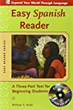 img - for Easy Spanish Reader w/CD-ROM: A Three-Part Text for Beginning Students (Easy Reader Series) book / textbook / text book