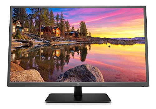 "2018 HP Professional 32"" Full HD 16:9 LED-backlit Widescreen Monitor with Tilt Adjustment, VESA Mount, 1920 x 1080, 60Hz, 250 cd/m², 178° / 178°, HDMI, VGA, Black"