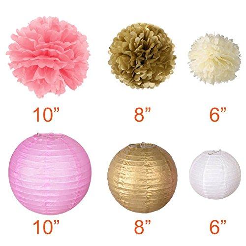 60%OFF Set de flores de papel de seda 96fdb2a4584