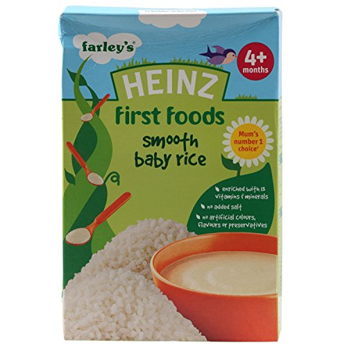 Heinz First Baby Foods , Smooth Baby Rice From 4 Months