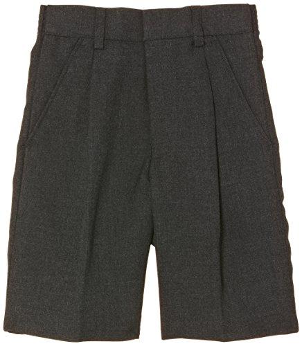 51NoIXwrkHL Pantalones cortos totalmente construidos y forrados. Cremallera delantera y longitud de pierna más larga 65% Poliéster, 35% Viscosa
