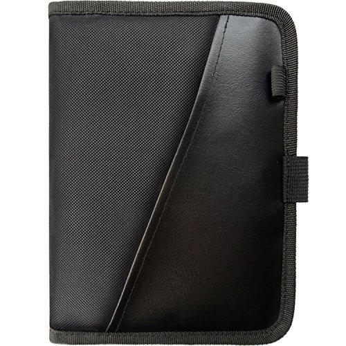 PlusXpres Glove Box Console Organizer - Auto Document Case - Premium Car Paperwork Holder - Vehicle Storage Wallet for Registration & Insurance Card