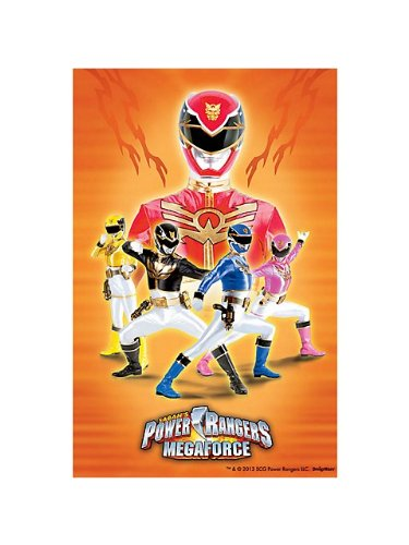 [Power Rangers 'Mega Force' Paper Tablecover (1ct)] (Power Rangers Megaforce Halloween)