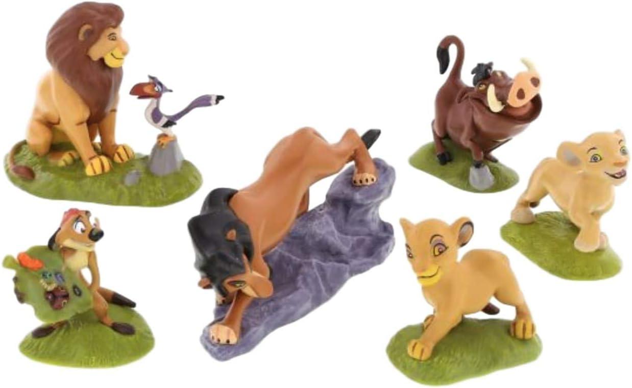 Amazon.com: Disney Parks Exclusive Rey León Simba Figurine ...