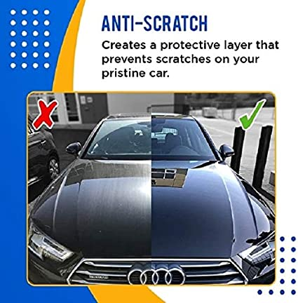 Anti Scratch Hydrophobic Polish Nano Coating Agent Improve Glass Clarity Fog Free And Increase Car S Shine Give A Premium Nano Car Wipe 30 30 Ml Medium Auto