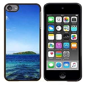 LECELL--Funda protectora / Cubierta / Piel For Apple iPod Touch 6 6th Touch6 -- La belleza del paisaje --