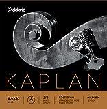 D'Addario KS611 3/4M Kaplan Solo Double Bass A String, 3/4 Scale, Medium Tension