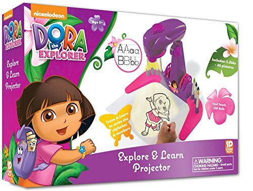 - Dora The Explorer Trace and Learn Projector