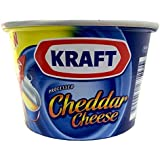 Kraft Processed Cheddar Cheese, 190g - Pack of 2
