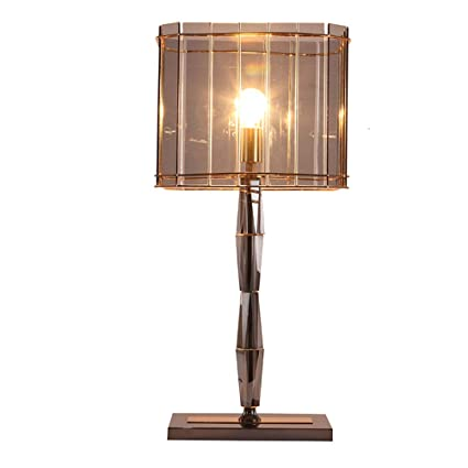 Amazon.com: PPWAN Table Lamp Modern Hong Kong-Style Light Luxury ...