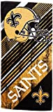 NFL New Orleans Saints Diagonal Beach Towel, 28 x 58-inches