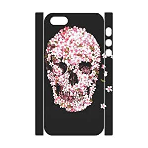 Skull DIY 3D Cover Case for Iphone 5,5S,personalized phone case ygtg557761 by mcsharks
