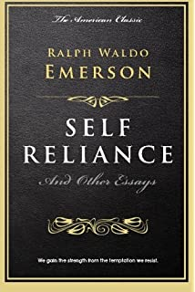 Self reliance and other essays dover thrift editions ralph