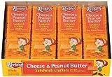 Keebler, Cheese & Peanut Butter Sandwich Crackers (Pack of 24)