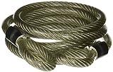 ABUS 46 Flexible Braided Steel Cable, 7/16'' Diameter (6 feet)