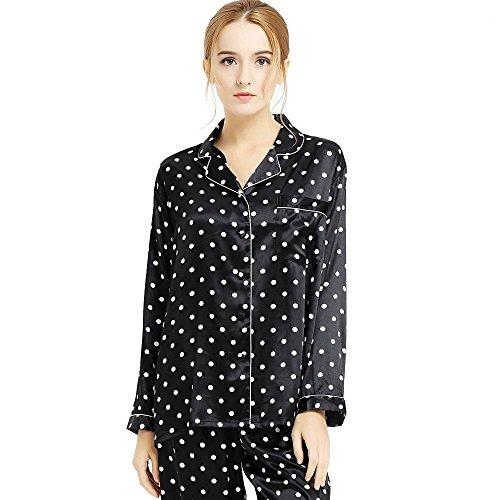 womens-silk-satin-pajamas-set-sleepwear-loungewear-black-s