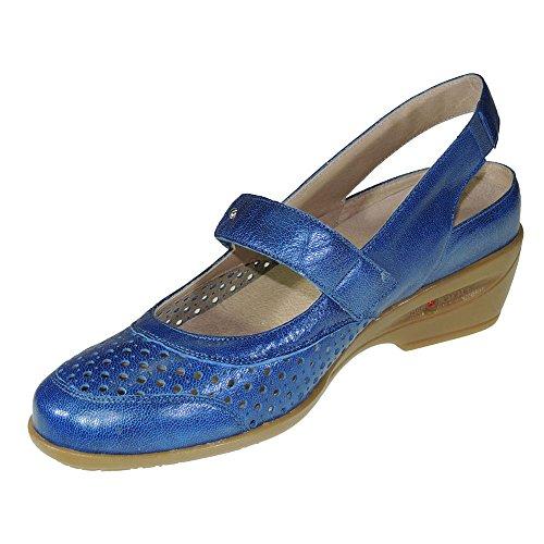 COPER - Sandaia Con Planta Extraible Y Cierre De Velcro - Modelo 105716 Azul