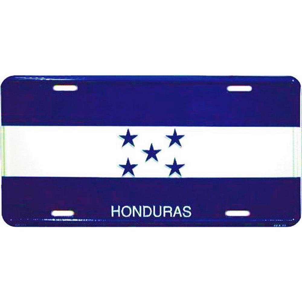 Signs 4 Fun SL2386 Honduras Flag License Plate