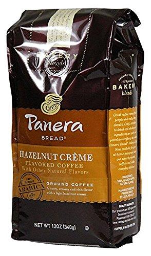 Ground Coffee Hazelnut Cream - Panera Bread Coffee Hazelnut Cream Coffee 12 Ounce (Pack of 2)