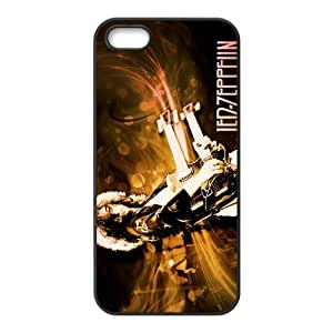 Attention! Popular Rock Band Led Zeppelin Iphone 5,5s Case Cover-Black Best Protective Hard Plastic cover