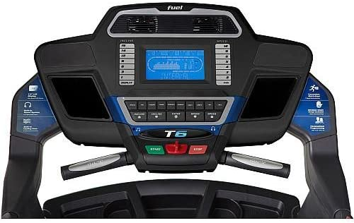 FUEL T6 Folding Treadmill with Built in Bluetooth Speakers