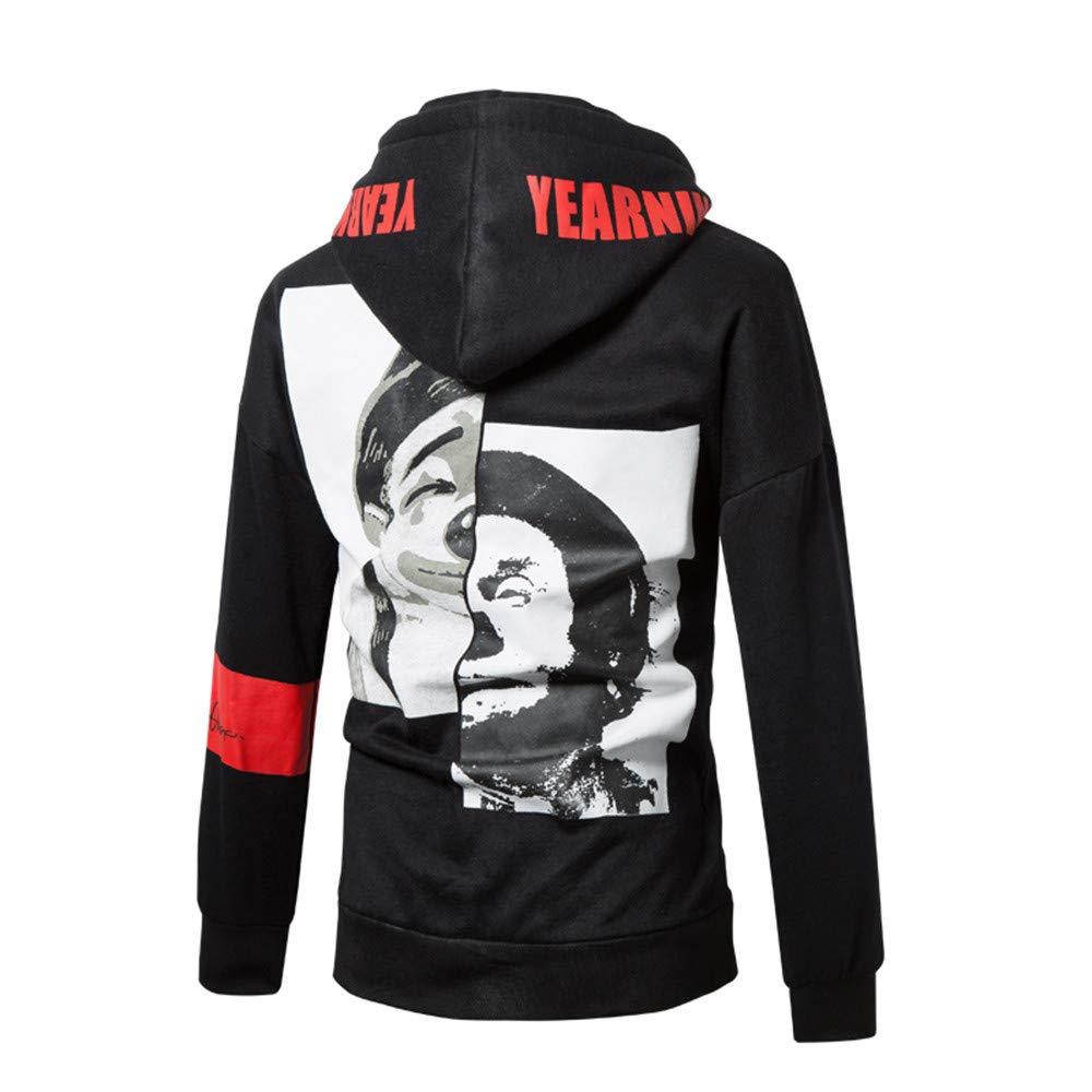 Apparel Pullover Hoodie,Mens Autumn Winner Long Sleeve Printed Hoodie Hooded Sweatshirt Top Tee Blouse for Men Teen Boys