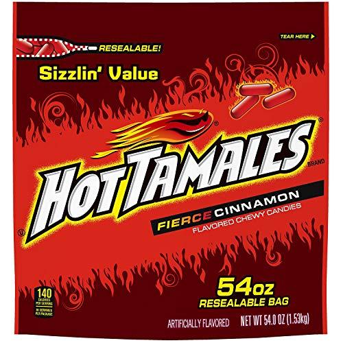 - A Product of Hot Tamales, Fierce Cinnamon (54 oz.)