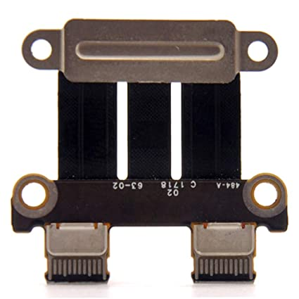 "DC Power Jack I//O Board MacBook Pro 13/"" 15/"" A1706 A1707 A1708  2016 820-00484-02"