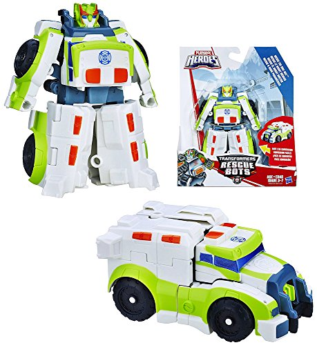 Rescue Ambulance - Medix The Doc-Bot to Ambulance Rescue Heroes Transformer 4.5