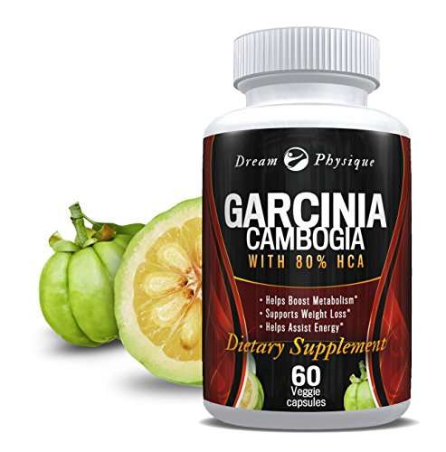 DREAM PHYSIQUE Pure Garcinia Cambogia: 100% All Natural HCA