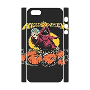 Personalized Durable Cases iphone5 5S 3D Cell Phone Case White Helloween Eiats Protection Cover