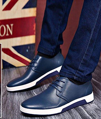 Extra Inghilterra Uomo Blu particolarmente casuale Dimensione PU Grande 48 stile scarpe scamosciato Bebete5858 Pelle Uomini UdwH7g7q
